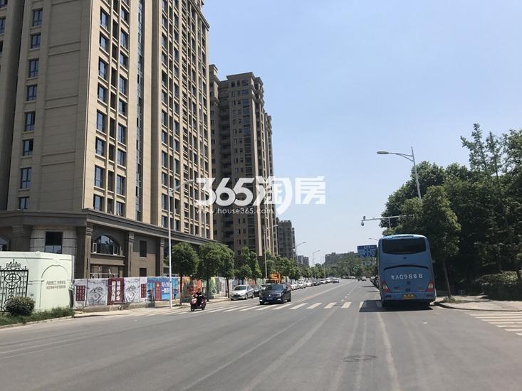中电颐和府邸已建成楼栋(7.19)