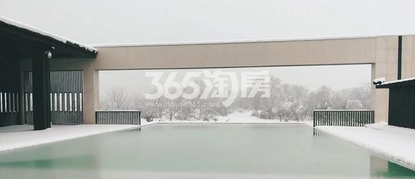 融创信达政务壹号售楼部外雪景(2018.2.3)