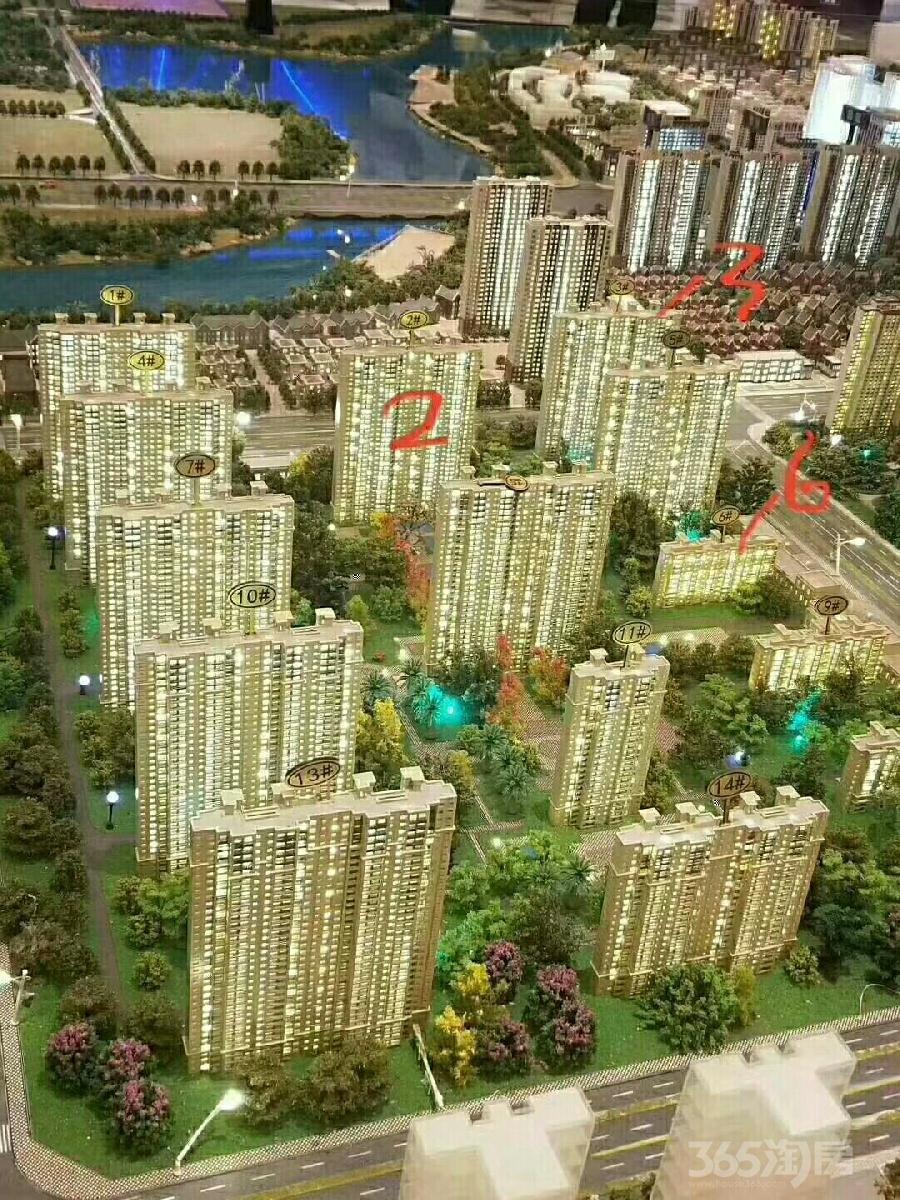 绿地智慧金融城3室2厅2卫110平米2018年产权房毛坯