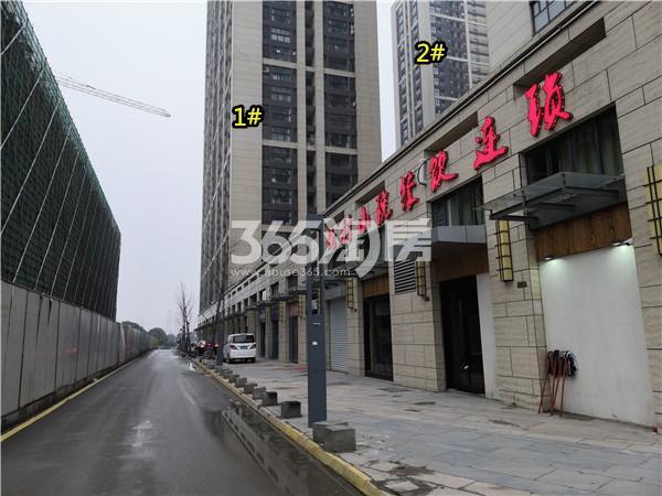 东方万汇城底商实景图(2.21)