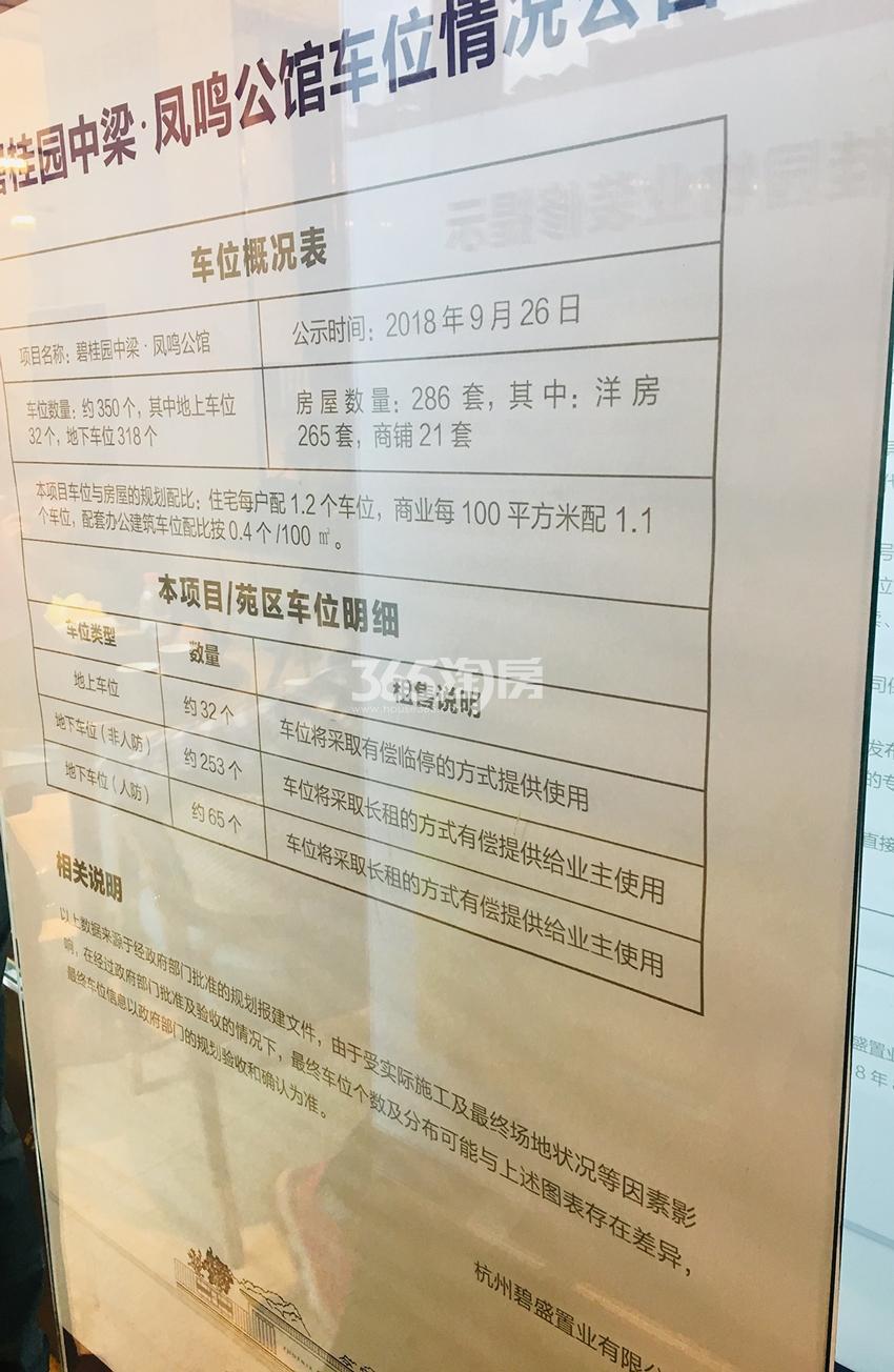 碧桂园中梁凤鸣公馆实景图