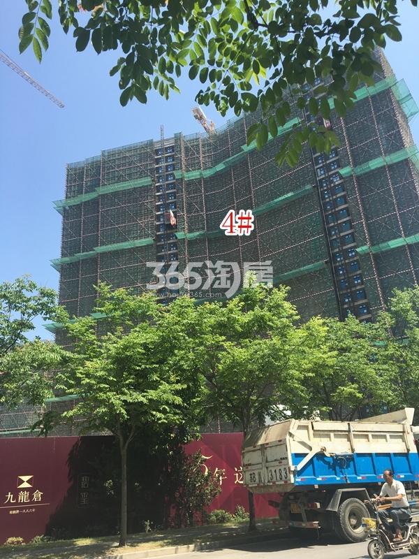九龙仓碧玺高层4#楼实景图(2018.5 摄)
