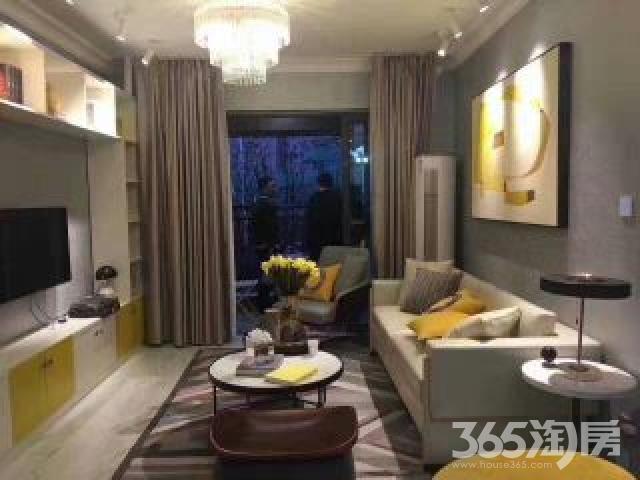 盈都江悦城2室2厅2卫89平米2016年产权房毛坯