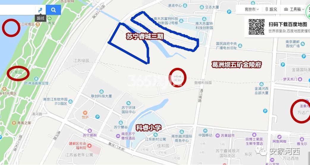 苏宁檀悦交通图