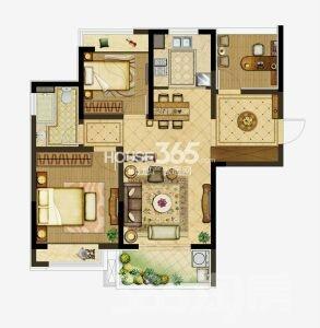 朗诗未来街区3室2厅1卫80平米2016年产权房毛坯