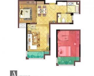 艾菲国际B区少有户型房主本自住房忍痛出租拎包入住