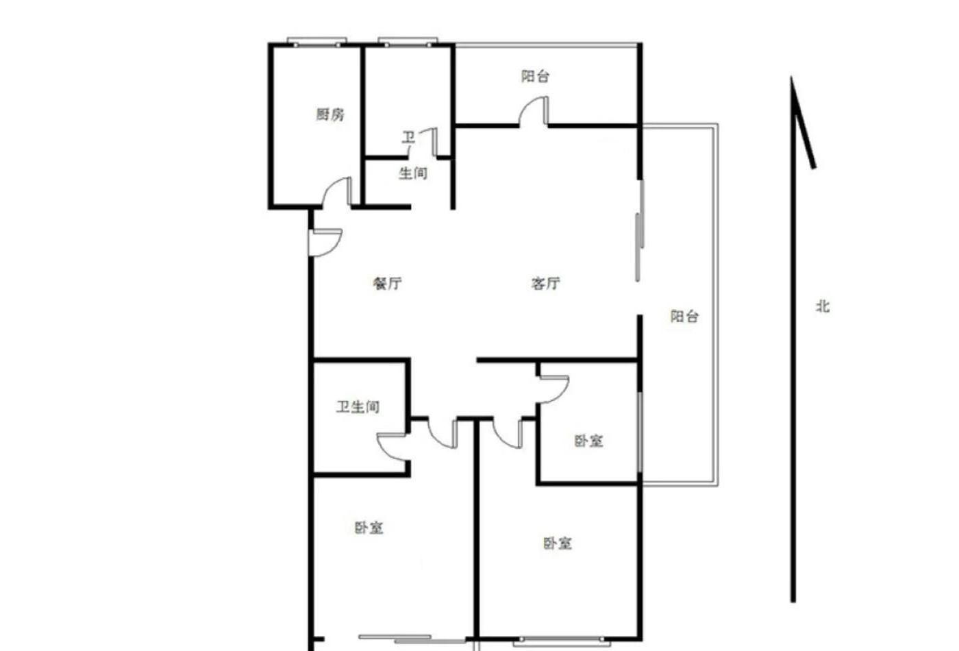 降价20万 急售蓝湖郡通透4房 超大阳台 随时看房