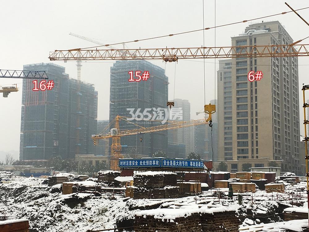 首开杭州金茂府实景图