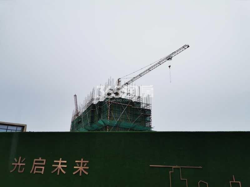 西江瑞府6号楼实景图(6.29)