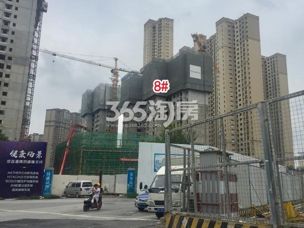 世茂时光里8#楼工程实景图(2018.8 摄)