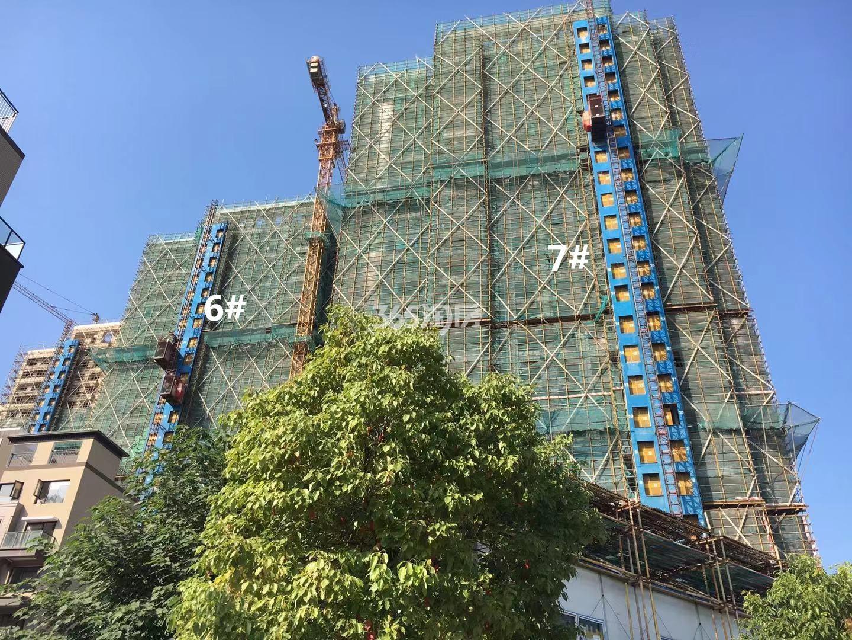 悦风华6、7号楼高层实景图(10.18)