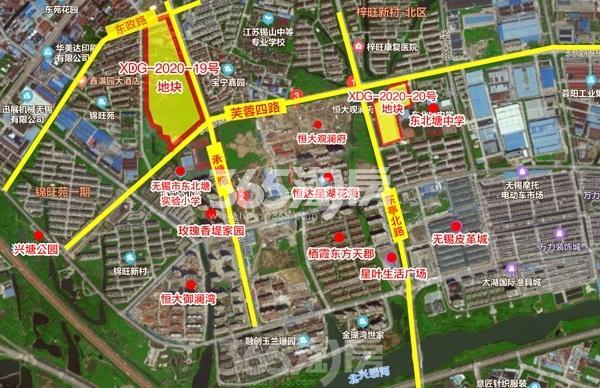 锡山圆融广场交通图