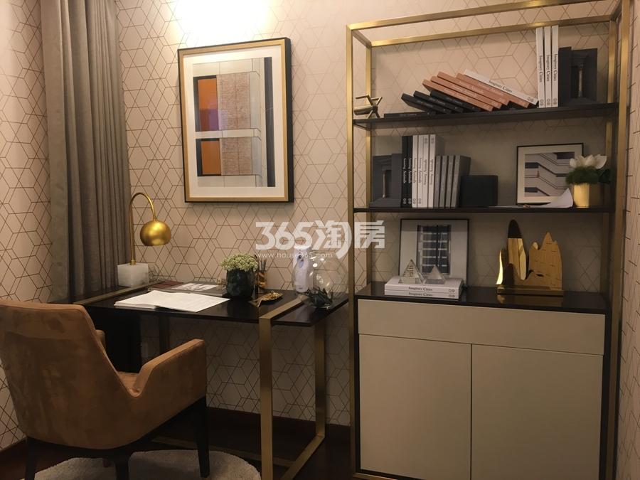 新城香悦公馆A4户型138方样板房——书房
