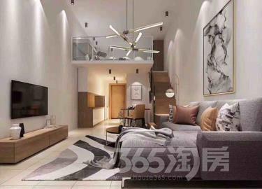 时代广场1室1厅1卫70平米精装产权房2017年建满五年
