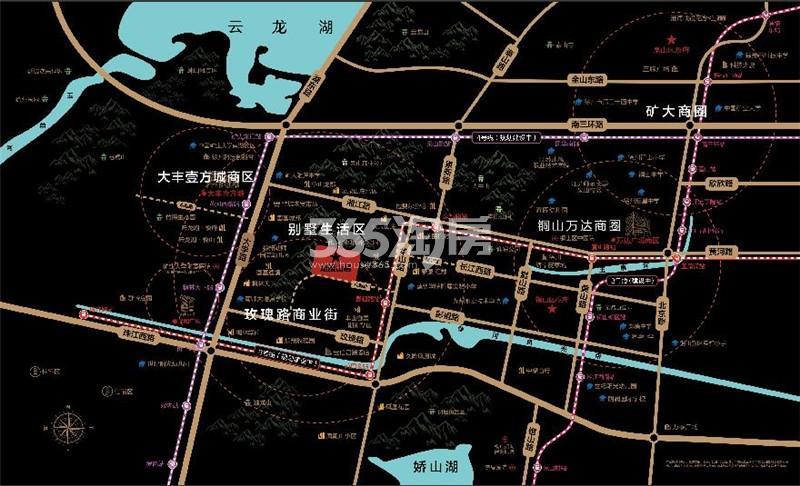龙腰山居交通图