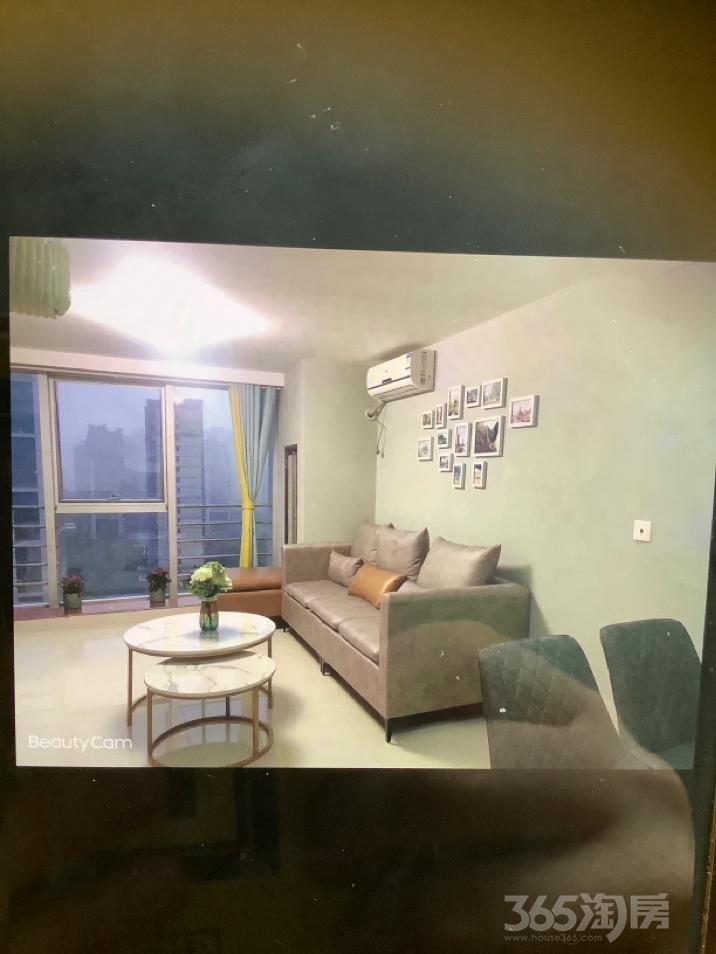 凤凰汇公寓2室2厅1卫90平米整租豪华装