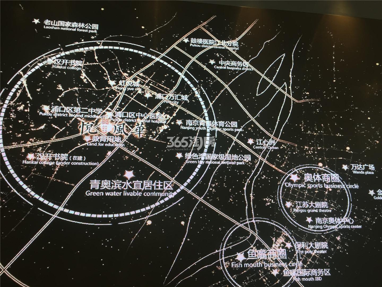悦风华交通图