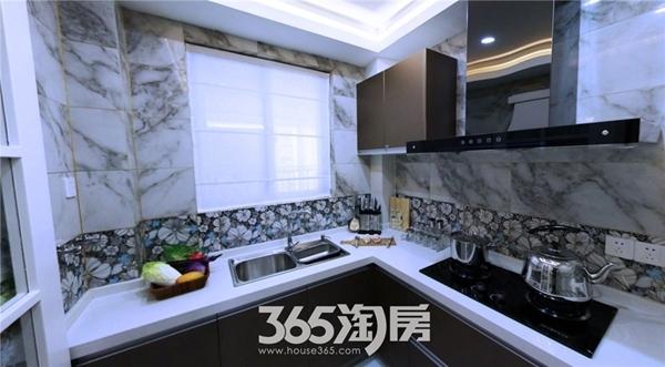 东方蓝海B2户型约88㎡样板间-厨房