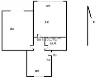 非中介,个人房源,光华东街16号,50.21平双南户型