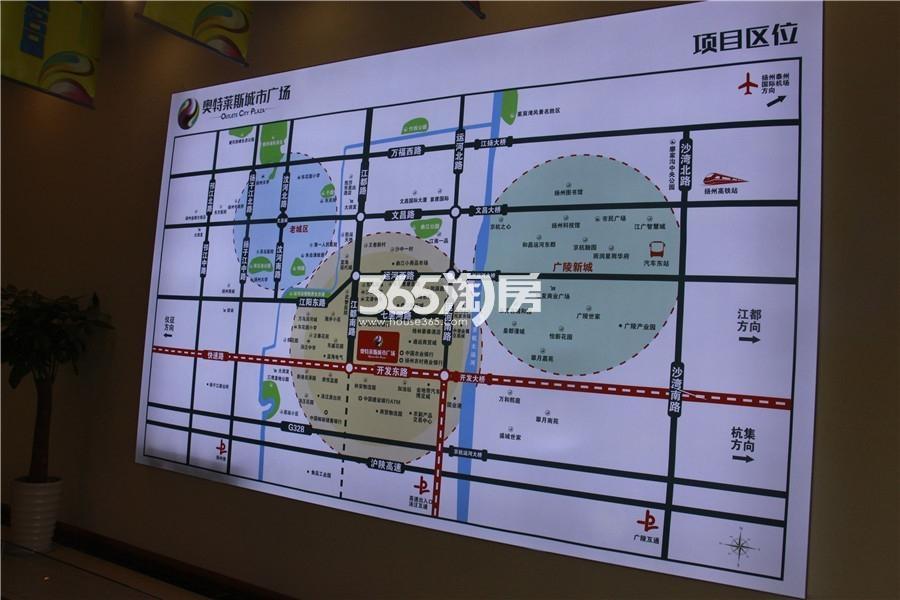 奥特莱斯城市广场交通图