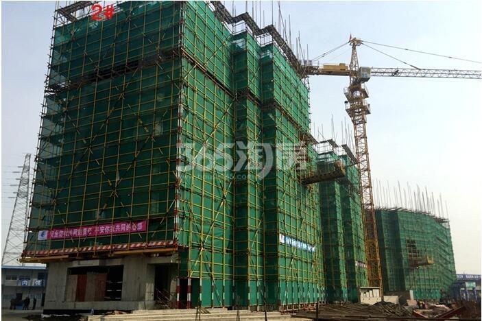 三潭音悦二期和园工程进度(2015年12月摄)
