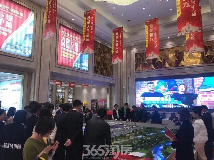 吾悦广场压轴旺铺引发抢购大战,全城争抢一铺难求!!!