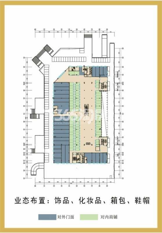 印象菱溪国际广场 一层商业平面图