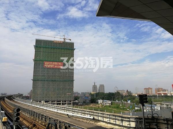 赛格公馆楼栋主体工程进度(2017.9)
