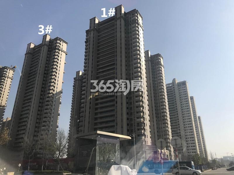 弘阳燕江府1、3号楼进展图(12.25)