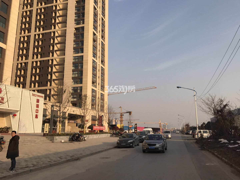东方万汇城南区周边实景图(2.22)