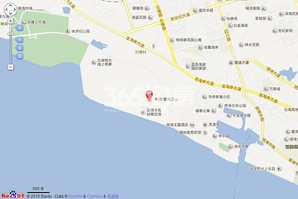 和居壹海江山交通图