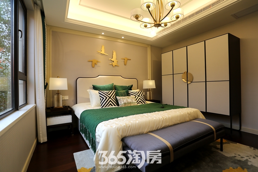 伟星金悦府140平样板间-卧室