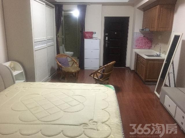 万达公寓B座1室1厅1卫59.00㎡整租豪华装