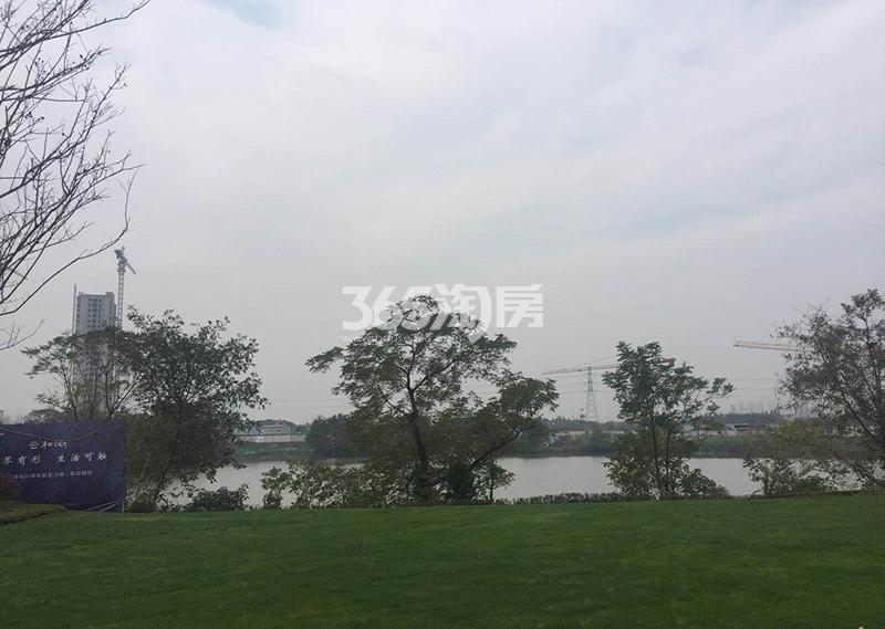 绿都云和湖项目售楼处实景图(2017.12)
