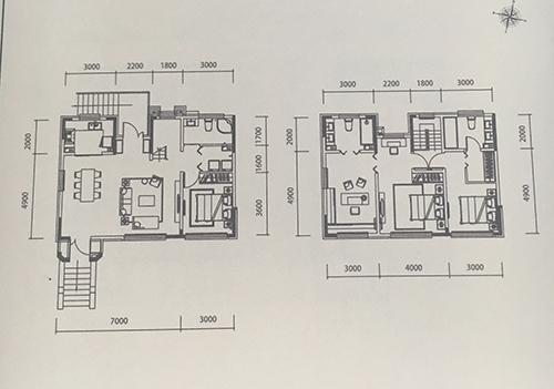 别墅145平米 4室2厅3卫