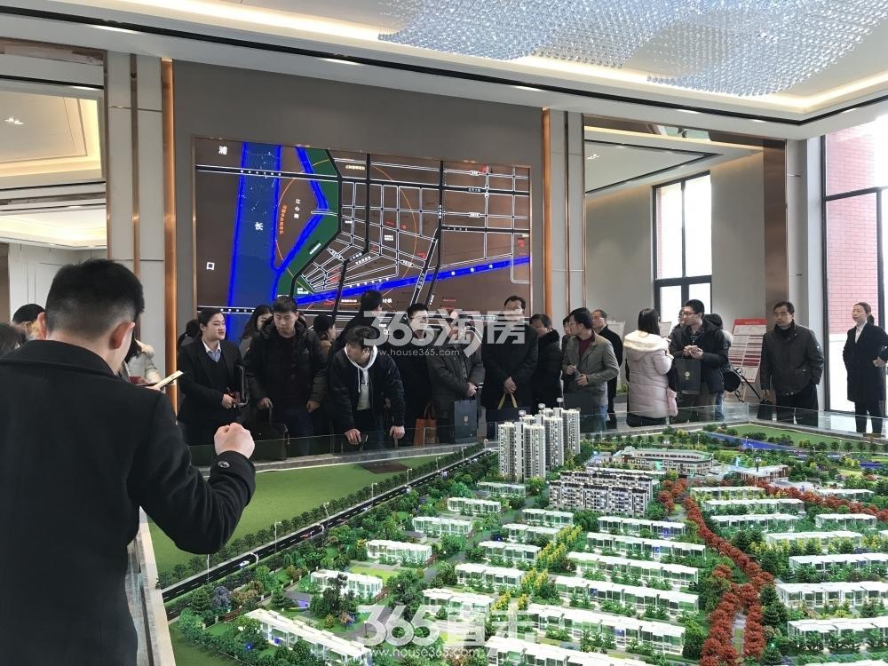 石林云城项目售楼处内(2.23)