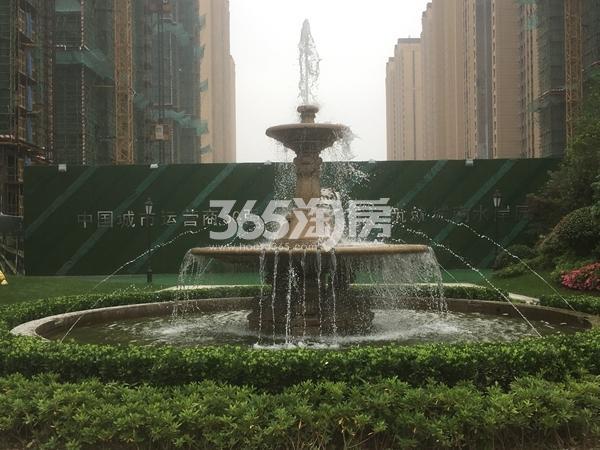 信地潜龙湾 喷泉 201805