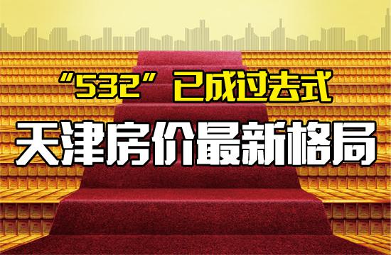 """""""532""""已成过去式,天津房价最新格局……"""