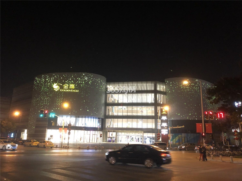 恒基旭辉玲珑翠谷旁商业体金鹰湖滨天地实景(10.31)