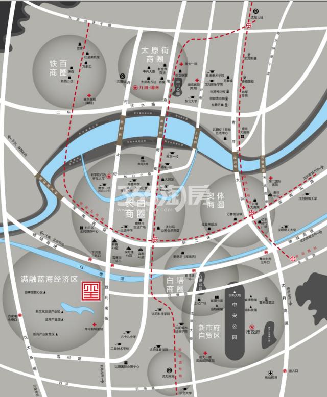 九洲御玺交通图