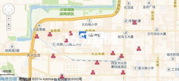 龙毓尚庭交通图