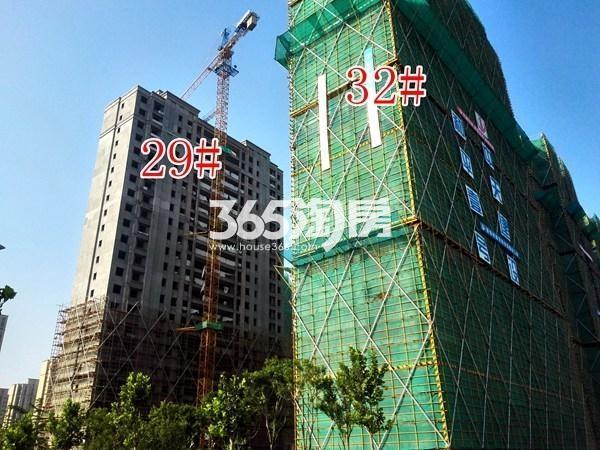 绿地工润和平壹号四期29#、32#工地实景图(9.13)