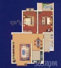 尚城国际 91平大两室 采光好 不动产证已下赠送储藏间 诚意售
