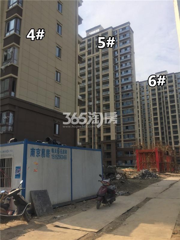 荣盛锦绣澜山楼栋施工进展(5.25)