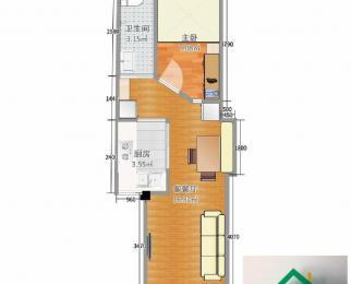 赛维拉单身公寓朝南精装一室一厅家电全留房东换房急售随时看房