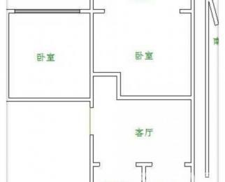 房主诚售,户型好,总价低,南北通透,两房朝南