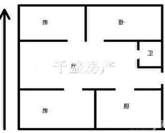 灵冶公寓 精装三房 85平 东西齐全 900一个月 看房方便