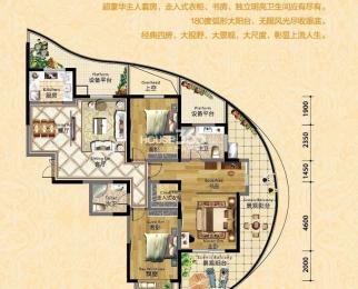 价格可谈急租-伟星长江之歌4室2厅2卫171平米整租简装