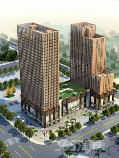 恒兴文艺广场90平米2014年可注册公司毛坯