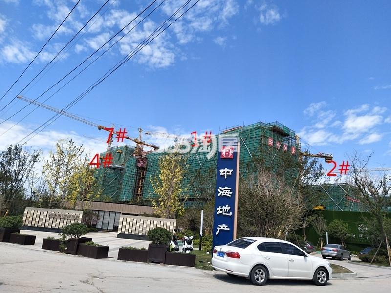 中海熙岸华府实景图
